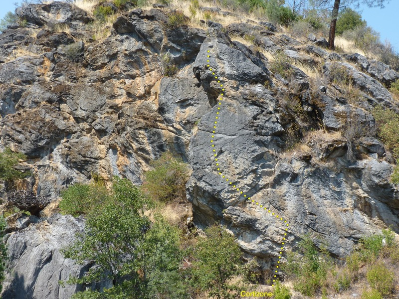 Rock Climbing Photo: Cortizone