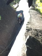Rock Climbing Photo: With such gripping rock and easy protection, runni...
