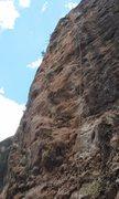 Rock Climbing Photo: Rope on Silverback