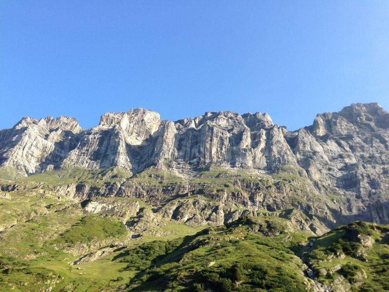 Rock Climbing Photo: Wendenstock!