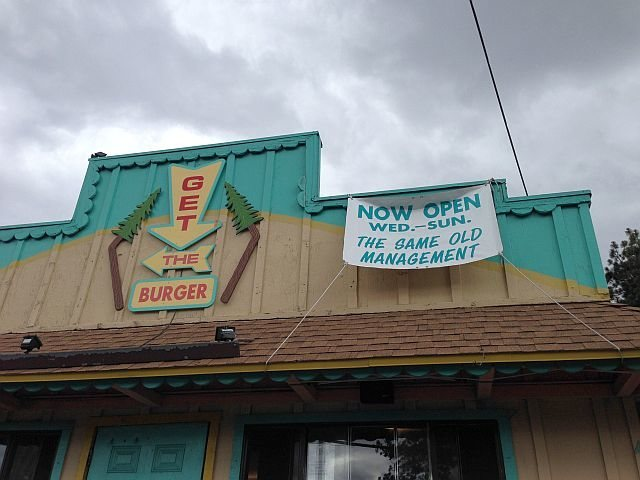 Get the Burger for all your burger needs, Big Bear Lake