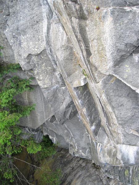 Side view of Skullduggery