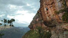 Rock Climbing Photo: el poeta in el español 5.14