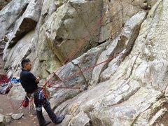 Rock Climbing Photo: Do the same for the third piece ... Etc ...