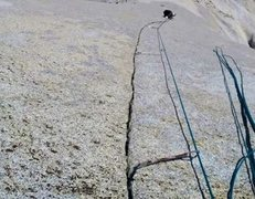 Rock Climbing Photo: Alpine Super Splitter!!!