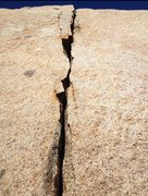 Rock Climbing Photo: Local Splitter that is viewed by Millions and only...