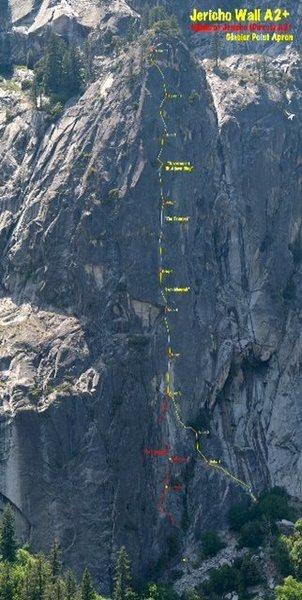 Rock Climbing Photo: Overlay credit K.Deweese/xrez