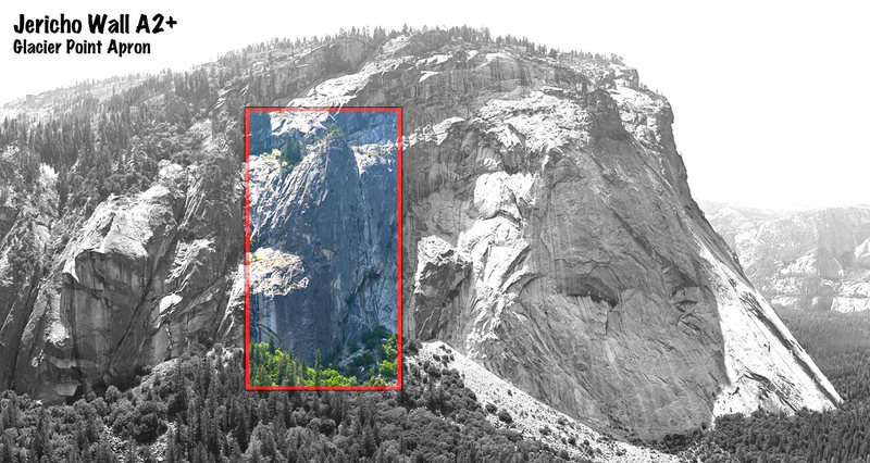 Rock Climbing Photo: Larger overview of area. photo stitched from xrez.