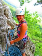 Rock Climbing Photo: Flaking rope at Seneca