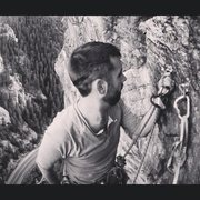 Rock Climbing Photo: View from the anchor on the last pitch of Playin' ...