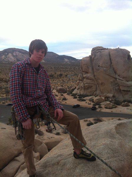 Rock Climbing Photo: J-tree 2014