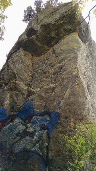 Rock Climbing Photo: View of Kevorkian from the approach.