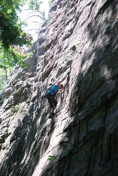 Rock Climbing Photo: Seemed very heady to us.  We thought it was a hard...