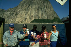 Rock Climbing Photo: Paul Lushman, Jeff Butterfield, Chris Kane, George...