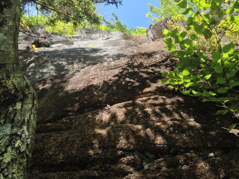 Rock Climbing Photo: Menethesis 5.9