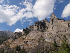 Rock Climbing Photo: Blodgett Canyon, MT