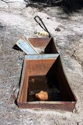 Rock Climbing Photo: Mining relics, Holcomb Valley Pinnacles