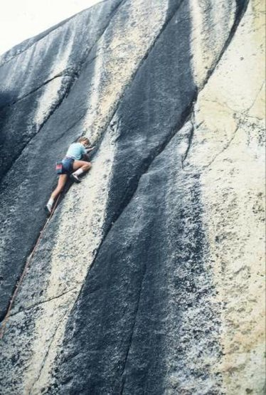 "Rock Climbing Photo: Vaino Kodas on the FA of ""Hot Box"" in Au..."