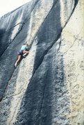 "Rock Climbing Photo: Vaino Kodas on the FA of ""Hot Box"" in Au..."