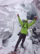 Rock Climbing Photo: Glacier Line, Cotopaxi, Ecuador.