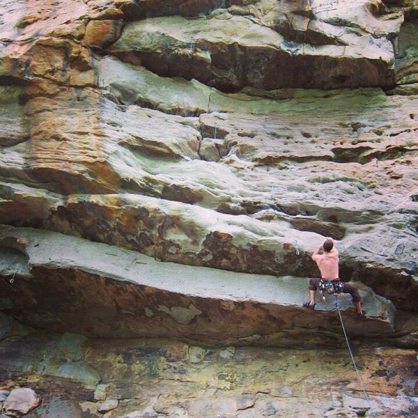 Psycho Wrangler, New River Gorge, 12a.