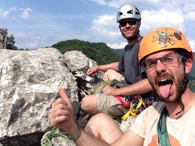 First Seneca summit for my buddy John.