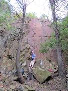 Rock Climbing Photo: Ed at the Southern Wall