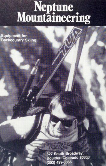 Neptune Mountaineering ad (1987)