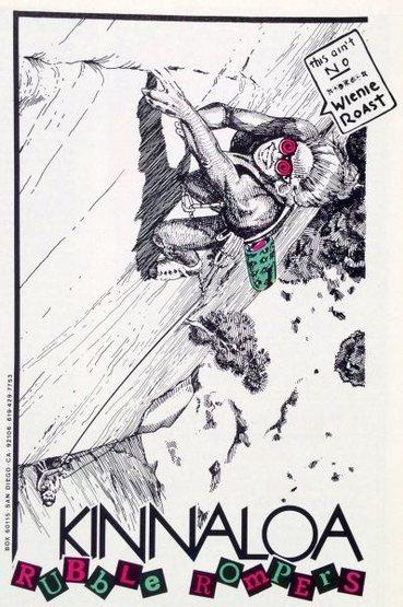 Kinnaloa ad (1987) with their famous line - &quot@SEMICOLON@This ain&@POUND@39@SEMICOLON@t no x*@*@*x wienie roast&quot@SEMICOLON@