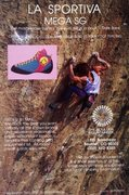 Rock Climbing Photo: The Boulder Mountaineer ad (1987) with Dale Bard o...