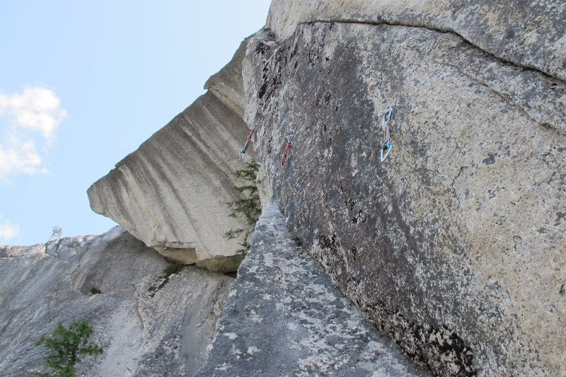 Rock Climbing Photo: The crux Changing Corners.