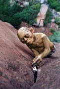 Rock Climbing Photo: Me on my 5.3d proj