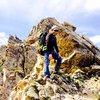The ridge line of Capitol Peak. A wee bit of mountaineering eh?