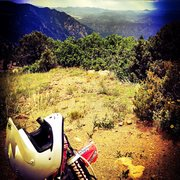 Rock Climbing Photo: Atop Tanner Trailhead