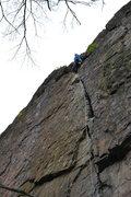 Rock Climbing Photo: Unconquerable crack