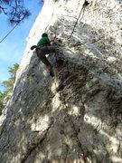Rock Climbing Photo: Porcelain arete