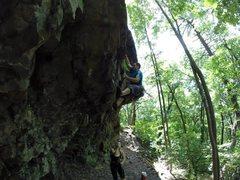 Rock Climbing Photo: Optimus Prime