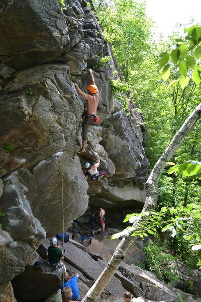 Rock Climbing Photo: Yoda