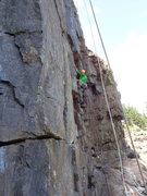 Rock Climbing Photo: A Dare by the Sea