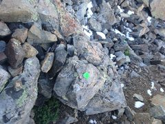 Rock Climbing Photo: Duct Tape Trail Markers