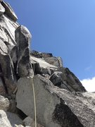 Rock Climbing Photo: The Summit Pitch. We Roped up for this one and the...