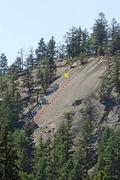 Rock Climbing Photo: Smear Tactics topo