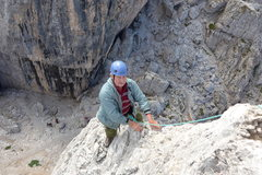 Rock Climbing Photo: Nearing the top...