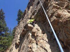 Rock Climbing Photo: Cecil's Leadville