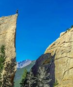 Rock Climbing Photo: Edge of time