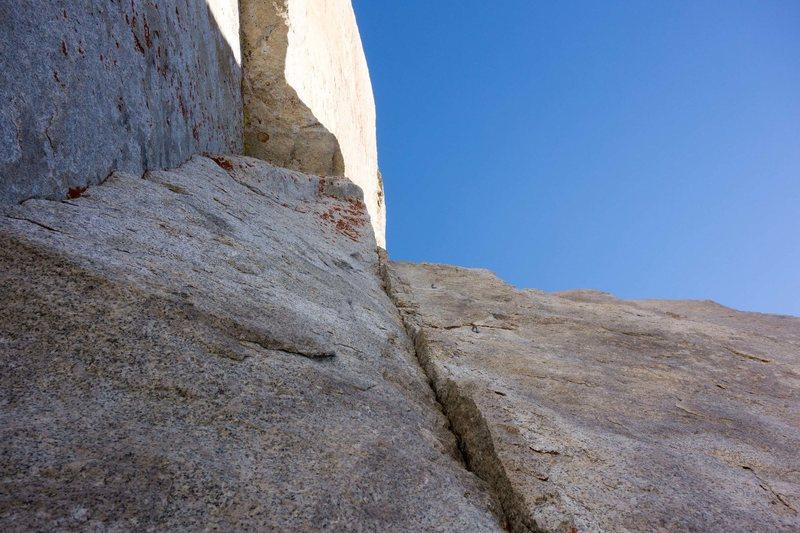 Rock Climbing Photo: crux pitch