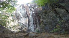 Rock Climbing Photo: Mike C on a nice morning