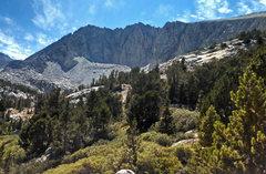 Rock Climbing Photo: SW to Ruby Peak : W ridge + N ridge