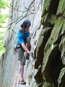 Rock Climbing Photo: Possum Lips @ Military Wall, Red River Gorge