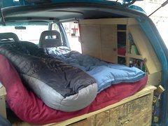 Bed closet book shelf aerostar